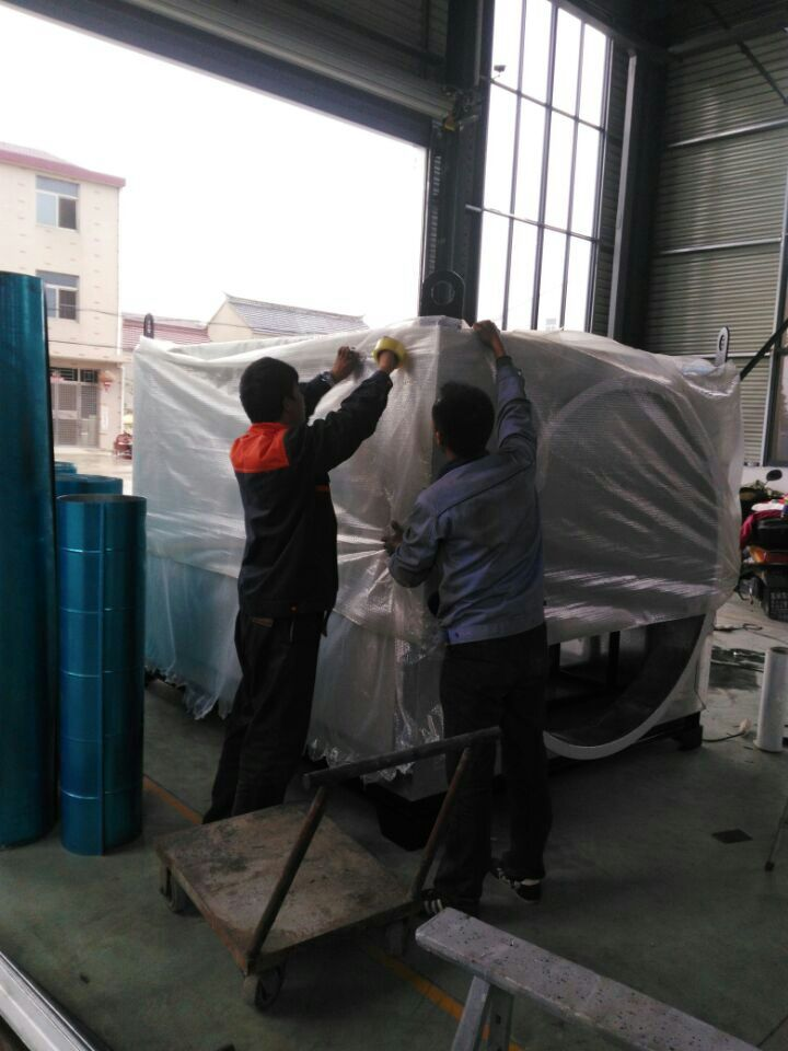 一公局新疆喀什110KW隧道风机加热系统出口发货
